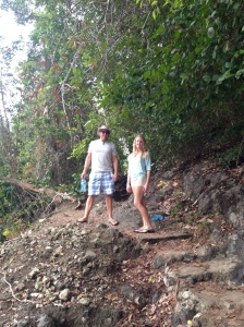 Hiking in Manuel Antonio
