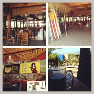 Had to get a Volcano Brewing Co beer before we left Tamarindo.