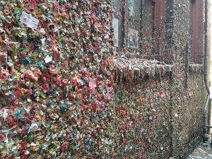 What's a trip to Seattle without seeing the Gum Wall?