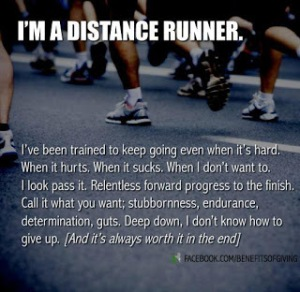 Distance Runner I