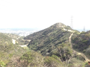 Running in Runyon Canyon