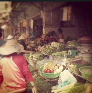 At the Bến Thành Market
