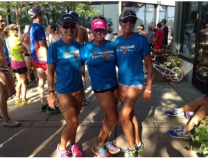 Running in our Undies-Ironman Boulder Underpants Run.  Love this tradition!