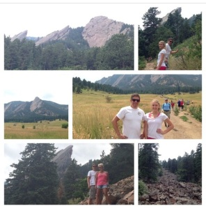 Hiking in Chautauqua Park…Gorgeous Day!