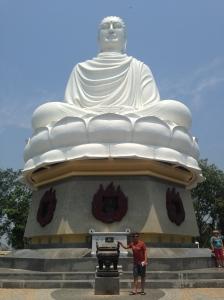 Buddha at Long Son Pagoda Nha Trang, Vietnam