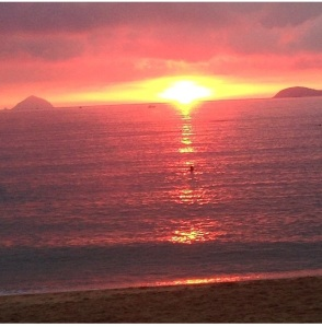 Can't get over these sunrises in Nha Trang